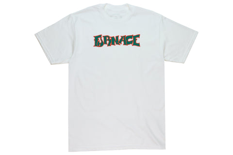 Wordmark Tee - Black/Apricot/Green