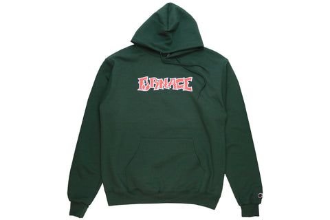 Wordmark Hood (Champion) - Forest/Orange