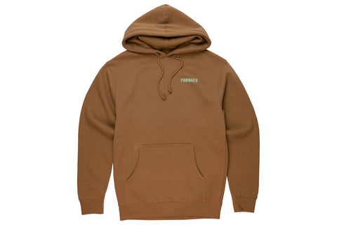Wordmark Hood (Champion) - Black/Grape