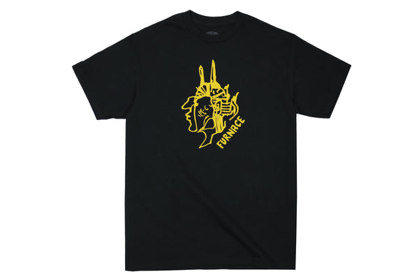 Gonz For Furnace Tee - Black/Hydrant Yellow