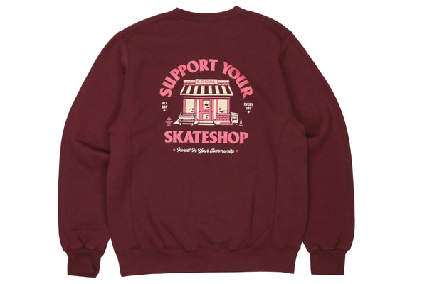 Skateshop Day Crewneck (Russell)