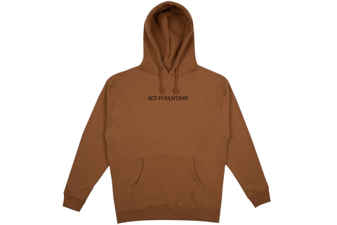 Basic Eagle Hoodie - Black/Yellow