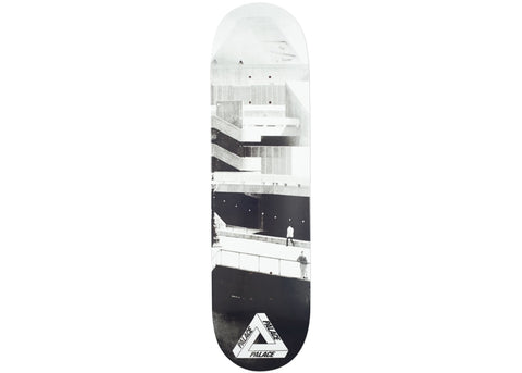 DN Brand Name Black/Grey Deck - 8.25""