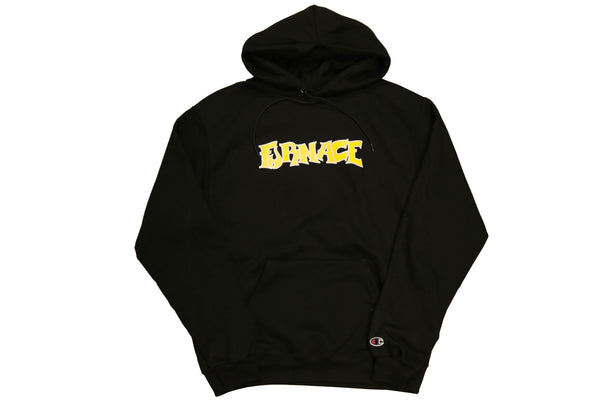 Wordmark Hood (Champion)- Black/Mustard