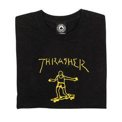 Gonz T-Shirt - Black/Yellow