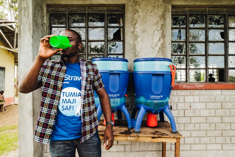 lifestraw giving back