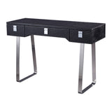 Tracie Black Croc Writing Desk