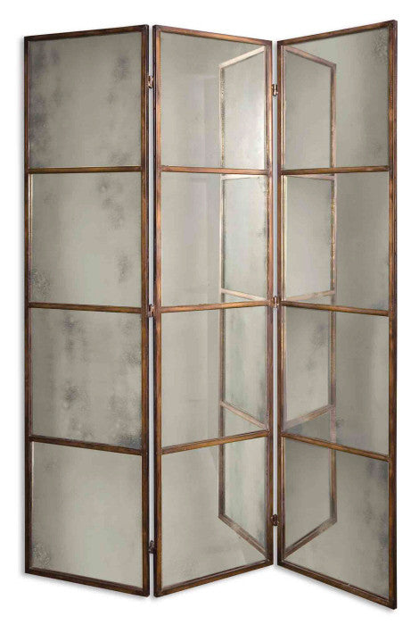 Grace Gold Antiqued Screen