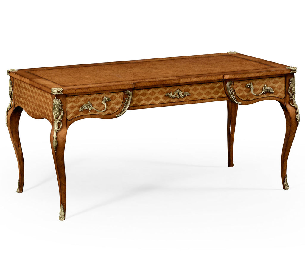 Satinwood Louis XIV Writing Desk