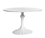 Marble Flute Dining Table