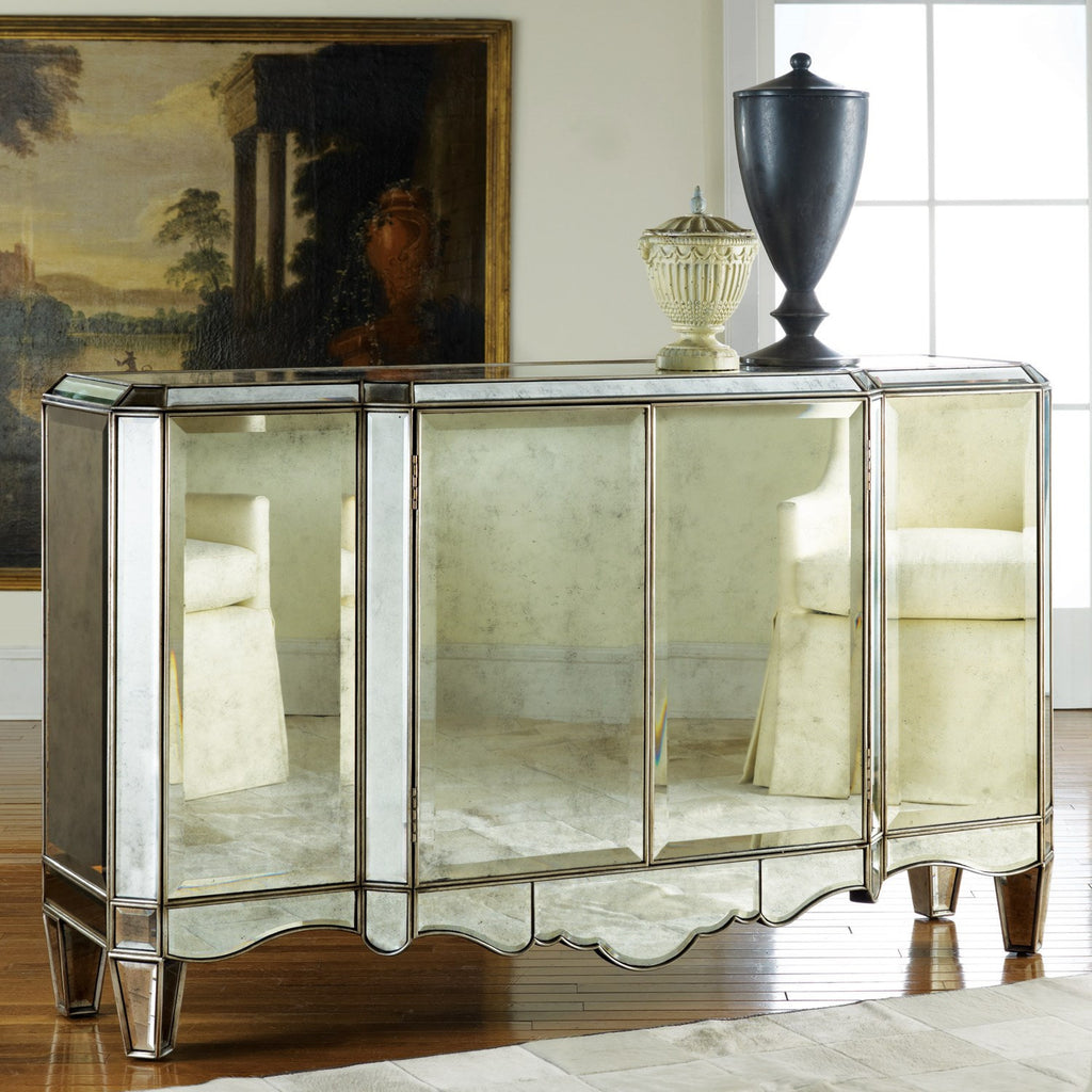 Dahlia Mirrored Sideboard