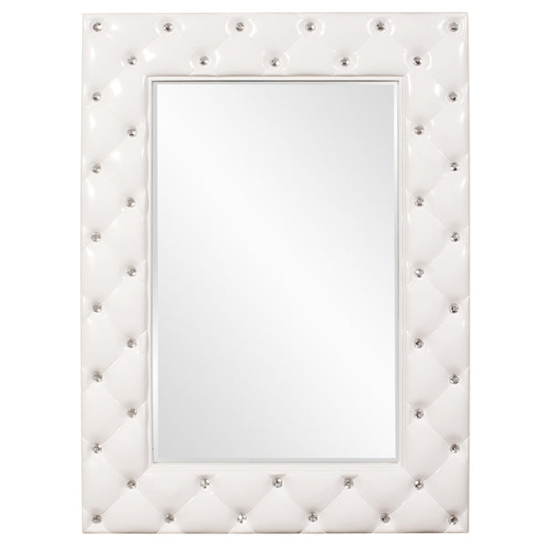 Posh Tufted Mirror