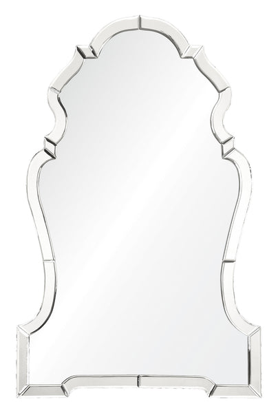 Mirrored Chippendale Mirror