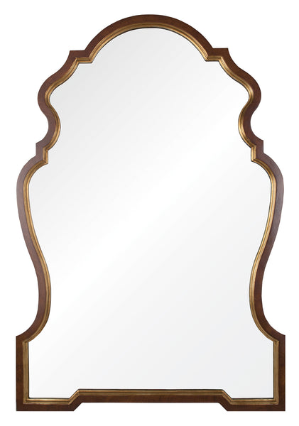 Gold Leaf Chippendale Mirror