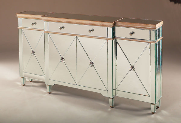 Nicolette Narrow Mirrored Console