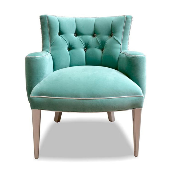 Jackie Tufted Velvet Chair