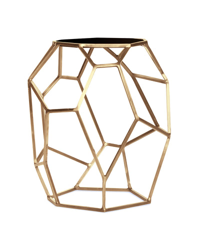 Eliza Brass Side Table