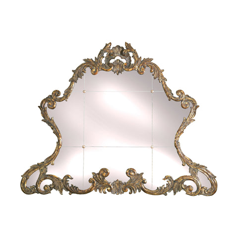 Acanthus Gold Gilded Mirror