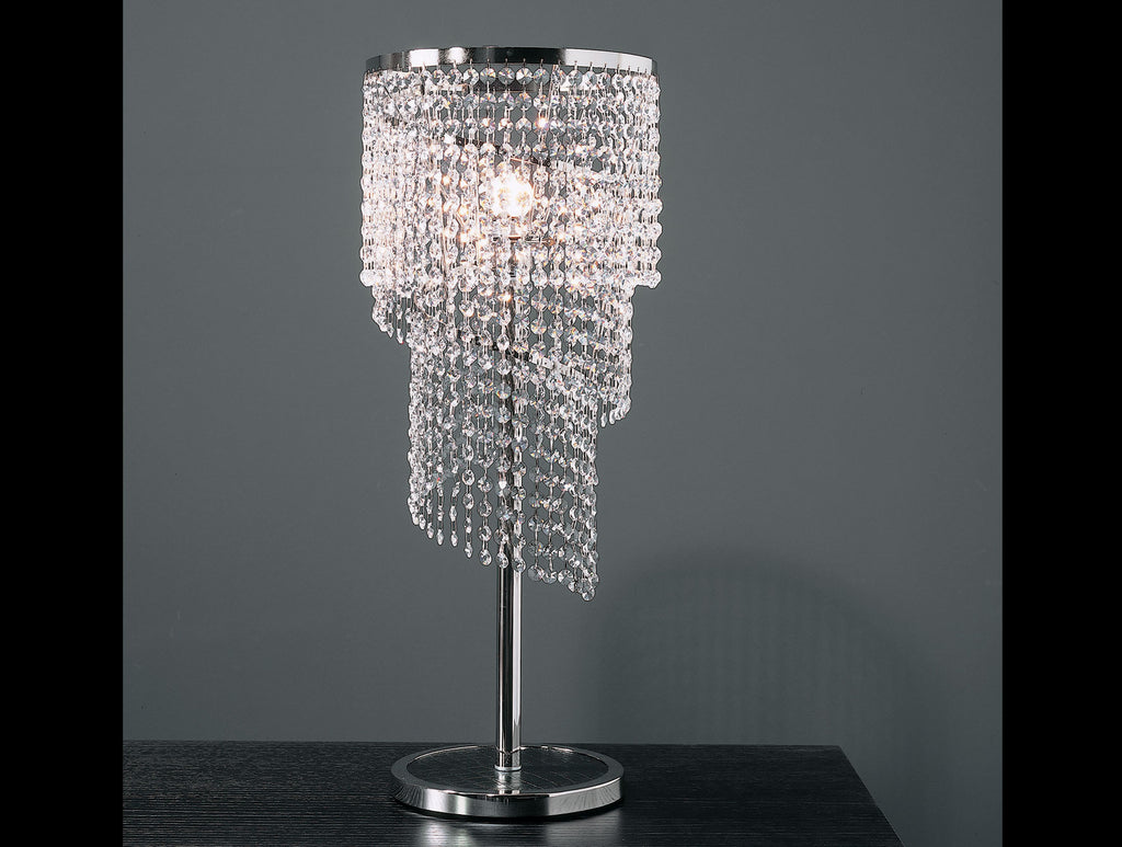 Stella Venetian Crystal Table Lamp