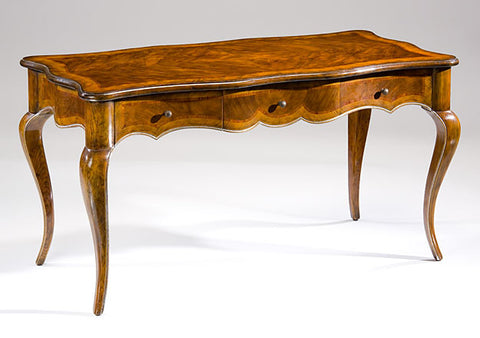 Walnut Chippendale Writing Desk