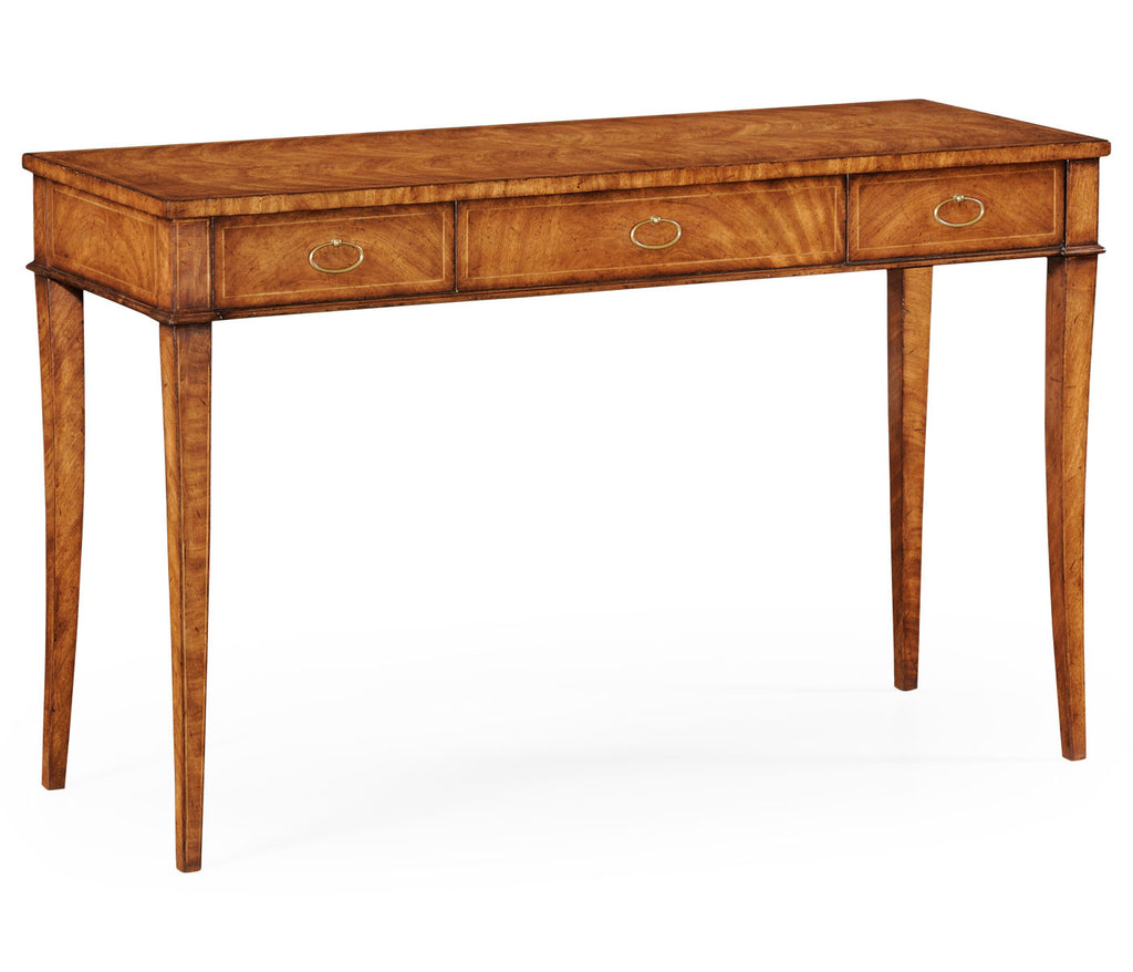 Emily Narrow Walnut Desk