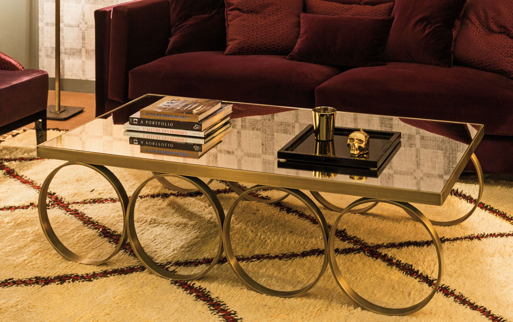 Cirque Mirrored Coffee Table