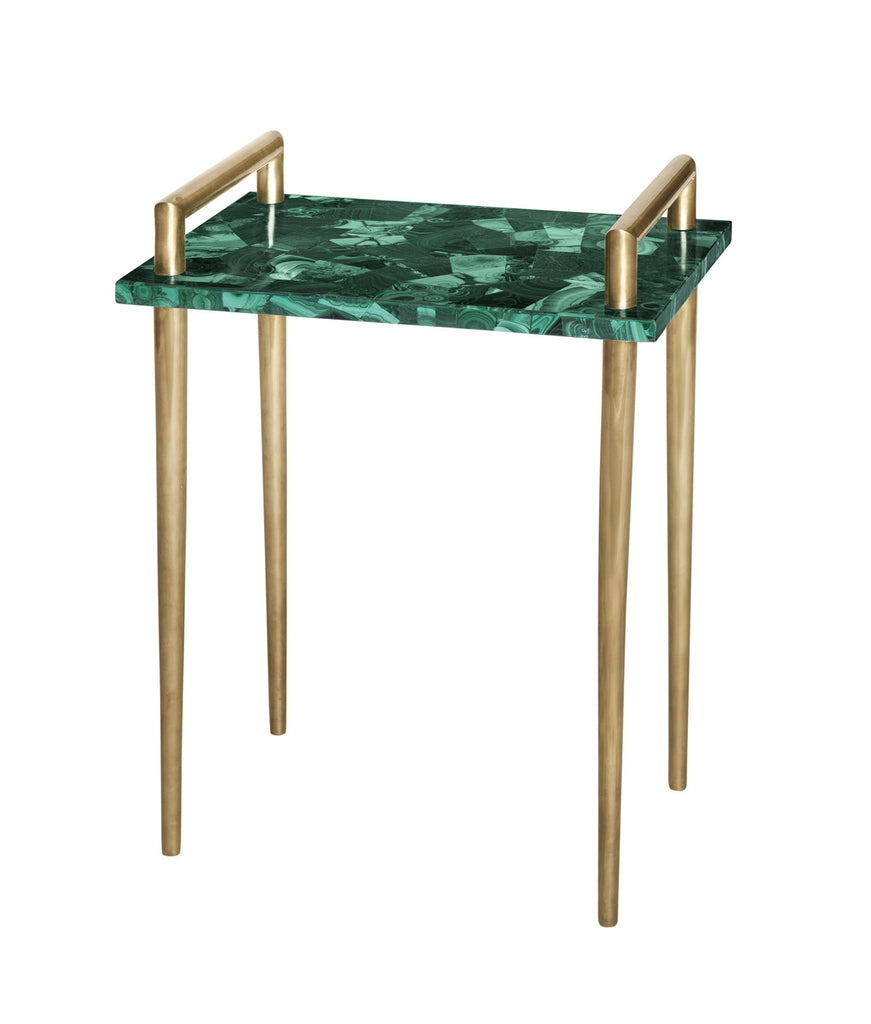 Jordan Malachite Side Table
