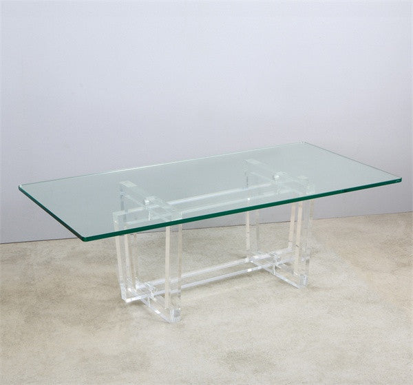 Laurie Acrylic Coffee Table