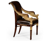 Golden Wings Empire Style Armchair