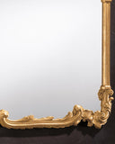 Gold Louis XV Overmantle Mirror