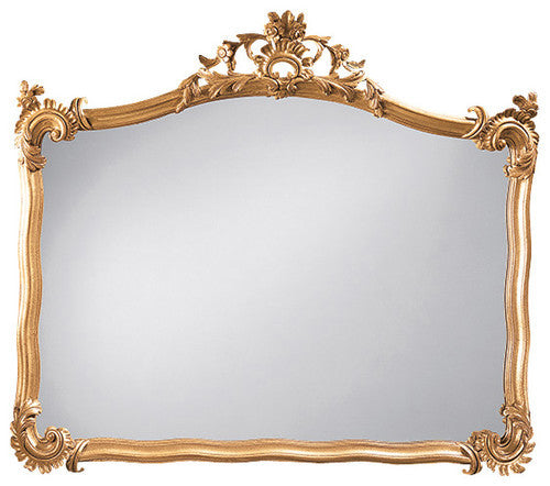 18th Century Gold Mantle Mirror
