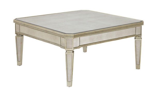 Arianne Mirrored Cocktail Table