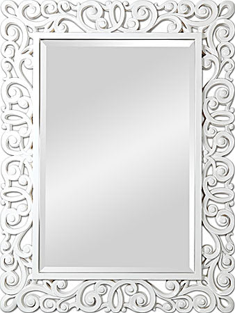 Amanda White Gloss Mirror