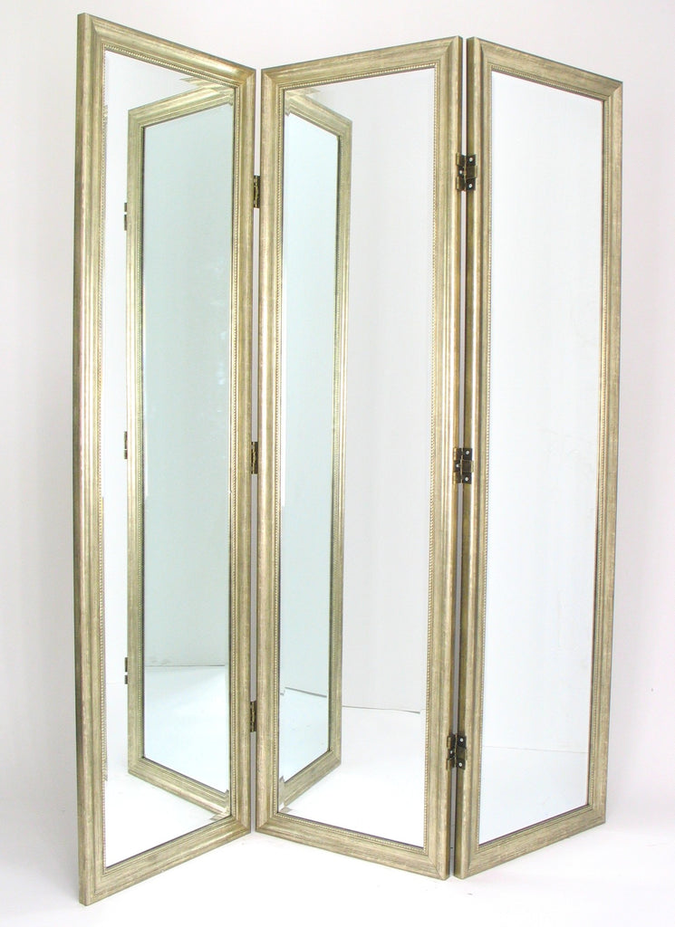 Angie Mirrored Room Divider