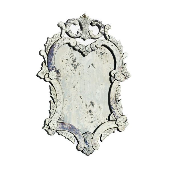 Piera Antiqued Venetian Mirror