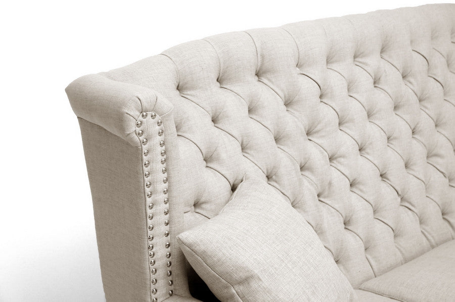 Beverly Tufted High Back Sofa