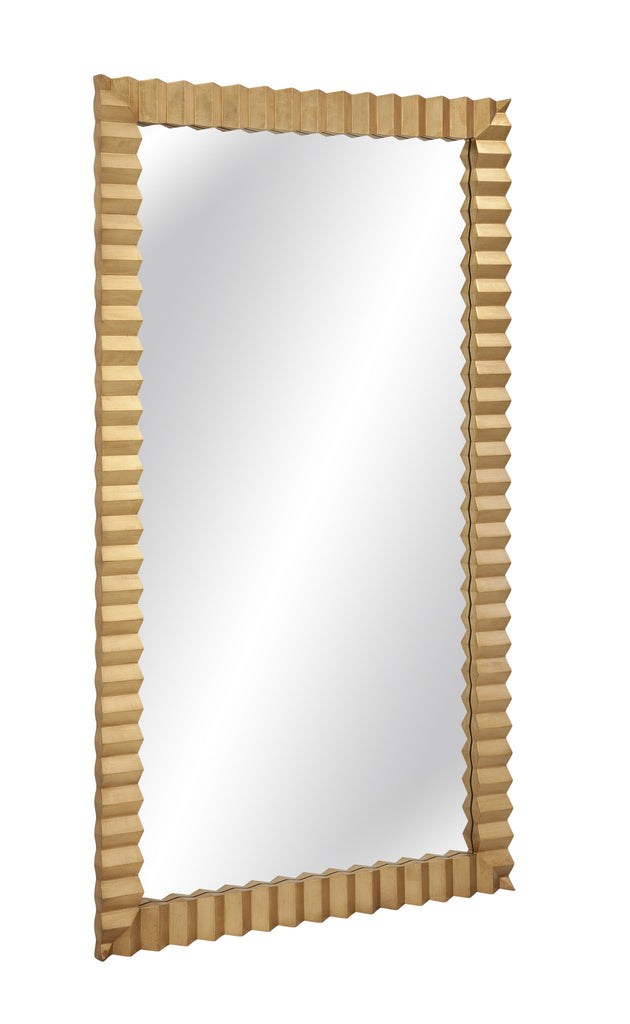 Blake Gold Leaf Floor Mirror