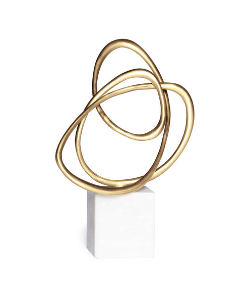 Amour Brass Sculpture (Small)