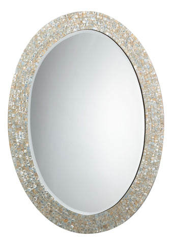 Charlize Mother of Pearl Mirror