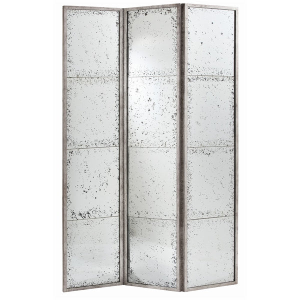 Cheryl Antiqued Mirror Screen