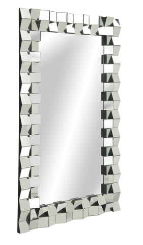 Ciara Facet Floor Mirror