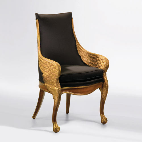 Empire Style Wing Armchair