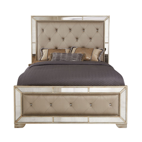 Fawcett Mirrored Bed