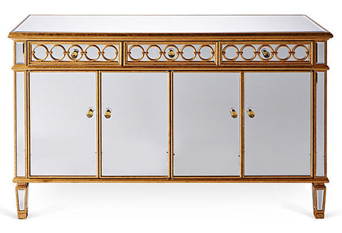 Gabriella Mirrored Buffet