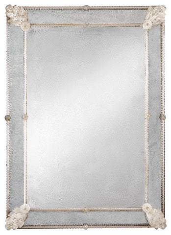 Gloria Antiqued Venetian Mirror