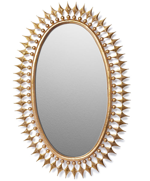 Wellington Mirror in Gold
