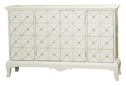 Julie Diamond Mirrored Credenza