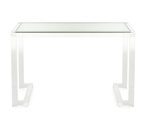 Kate Acrylic Writing Desk