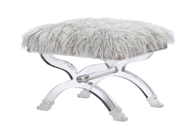 Lana Tibetan Sheepskin Bench