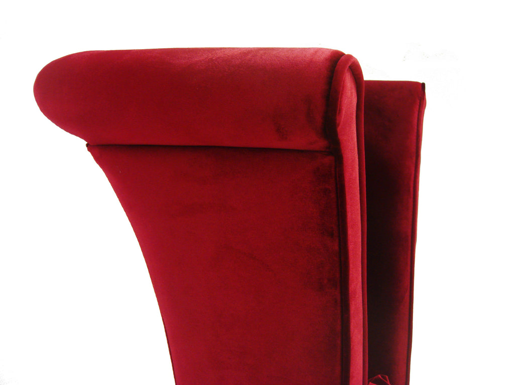 Mad Hatter Velvet Dining Chair